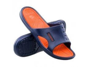 Pantofle Aquawave Nahin navy/orange (velikost obuvi 41)