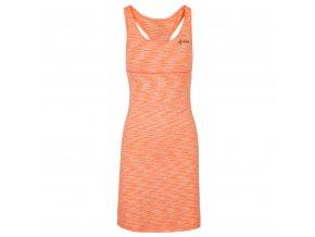Dámské šaty Kilpi Sonora světle oranžová (velikost 36)