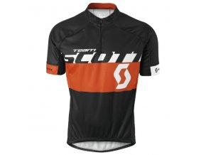Pánský dres Scott RC Team s/sl  bl/ tanger or (velikost M)