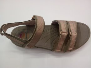 Dámské Sandále Earth Spirit Bridgewater - Mystic taupe Khaki (velikost obuvi 37)