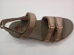 Dámské Sandále Earth Spirit Bridgewater - Mystic taupe Khaki (velikost obuvi 41)
