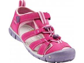 Dětské sandále Keen Seacamp very berry/lilac chiffo (velikost Keen EU 34)