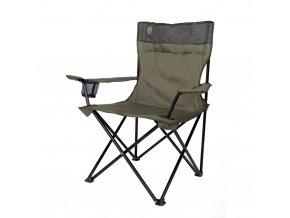 104928 coleman standard quad chair skladaci kreslo zelena