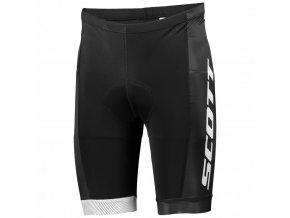 Cyklistické šortky SCOTT RC TEAM ++ černá bílá (velikost XXL)