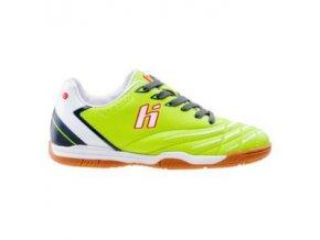 Sálová obuv Huari Dani JR IC lime / dk grey /white (velikost obuvi 29)