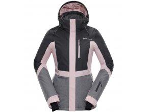 Alpine pro Sardara 2 LJCM287413 Dámská lyžařská bunda (velikost L)
