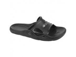 Pánské žabky Aquawave Coro black/light grey (velikost obuvi 42)