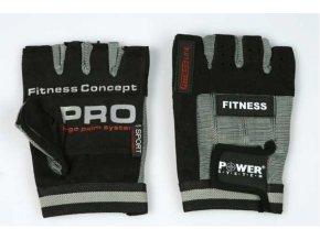 Fitness rukavice Power spandex kůže NEW (velikost L)
