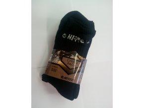 Ponožky Hitec chiro pack black white (velikost: 36 - 39)