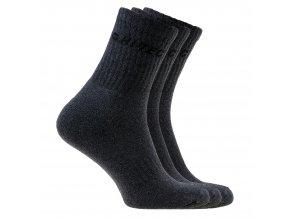 Ponožky Hitec chiro pack DARK GREY MELANGE/BLACK (velikost: 36 - 39)