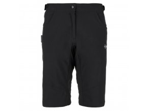 Dámské cyklistické kalhoty Kilpi Trackee - W černá (velikost 42)