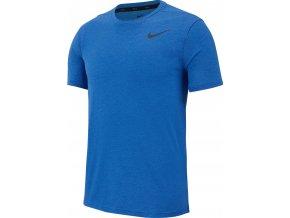 Nike BRT SS HPR DRY AJ8002 456 modrá/černá - dětské tričko (velikost L)