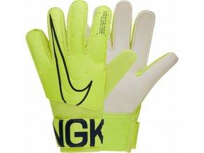 Brankářské rukavice Nike Junior GK Match GS3883 702 (velikost 3)
