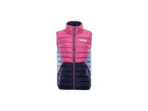 Dětská vesta Alpine Pro Quanno KVEP026407 (velikost 128-134)