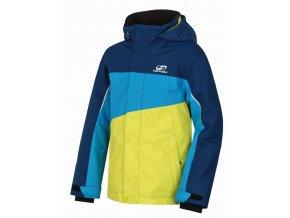 Dětská zimní bunda Hannah Majlo Jr poseidon/ caribean sea (velikost 116)