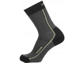 Ponožky  Husky  Treking new antracit sv. zelená (velikost 36 - 40)