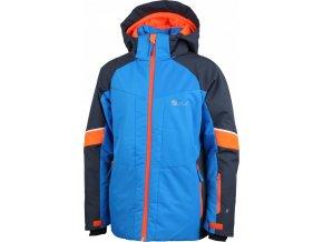 Dětská zimní bunda STUF Moritz modrá oranžová (velikost 140)