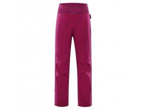 Dětské softshellové kalhoty Alpine Pro Ocio INS. KPAP072450 (velikost 104-110)