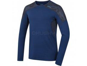 Pánské funkční triko Husky Active winter tmavě modrá (velikost L)