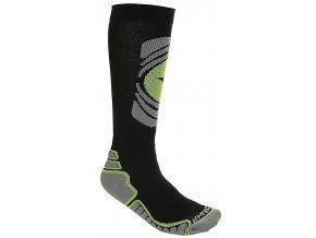 Ponožky Hi-tec Arctica black / dark grey/green (velikost 40 - 43)