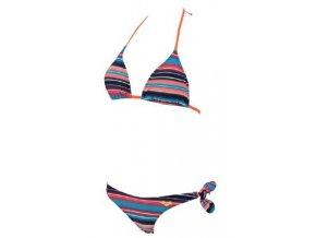 61160 damske plavky arena multi stripes