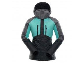 Alpine pro Sardara LJCK193547 Dámská lyžařská bunda nadměrná velikost (velikost L-L)