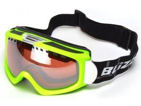 62777 lyzarske bryle blizzard 933 mdavzs neon green mat