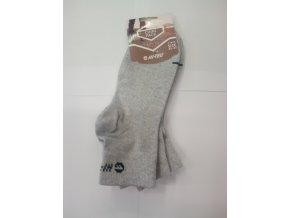 Ponožky Hitec chire  grey melange (velikost 36 - 39)