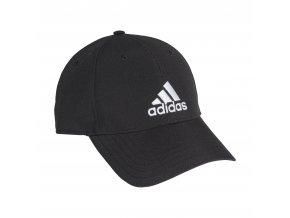 adidas FK0898 BBALLCAP LT EMB BLACK/BLACK/WHITE (velikost - obvod hlavy OSFW 56-58 cm  ženy)