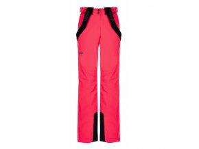 Kilpi Elare růžová lyžařské kalhoty (velikost 36)