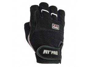 POWER SYSTEM Fitness rukavice FIT PRO X1 PRO černá (velikost XXL)