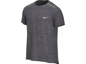 Nike DRY MILER TOP SS AJ7565 084 šedá (velikost XL)