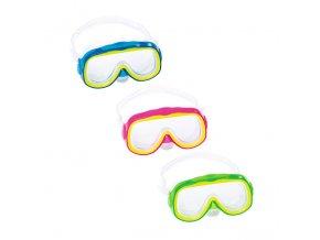 Dětské Potapěčské Brýle Bestway lil Explora p22029 (barvy modrá)