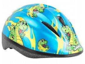 Kidzamo flamy rex Dětská helma (obvod hlavy v cm 46-53)