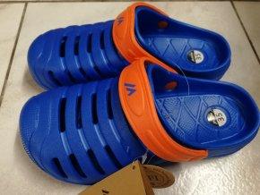Juniorská obuv Martes Jardim JR Royal blue/ red orange (velikost obuvi 29)