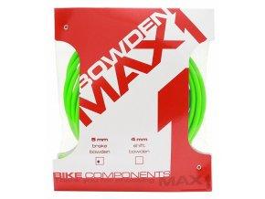 151100 bowden max1 5 mm fluo zelena baleni 3 m