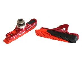 143720 brzdova botka silnicni max1 race 55 mm vymenna cerveny elox