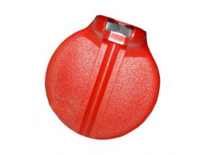 144944 centrklic plast cerveny 3 25 mm