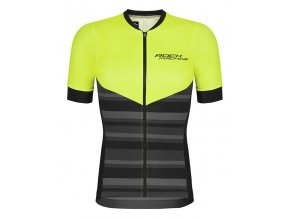 154565 dres rock machine mtb xc cerno zeleny vel xl