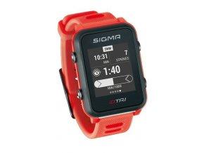 154805 chytre hodinky sigma id tri basic cervene