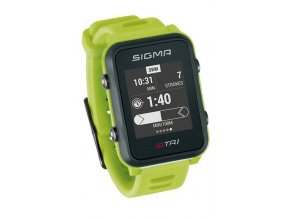 154802 chytre hodinky sigma id tri basic neon zelene