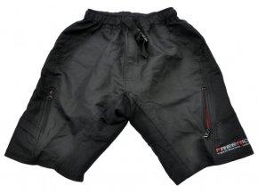147017 kalhoty kratke freeride atb matrix cerne m s vlozkou