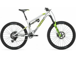 154202 kolo rock machine blizzard 90 27 rz gloss silver dvo green black xl