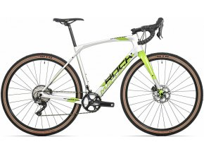 157277 kolo rock machine gravelride crb 900 test gloss silver dvo green black 54cm