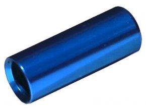148457 koncovka bowdenu max1 cnc alu 4 mm modra 100 ks
