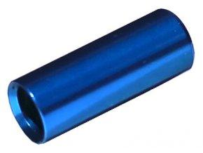 148445 koncovka bowdenu max1 cnc alu 4 mm utesnena modra 100 ks