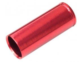 147230 koncovka bowdenu max1 cnc alu 5 mm cervena 100 ks