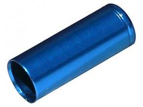 148460 koncovka bowdenu max1 cnc alu 5 mm modra 100 ks