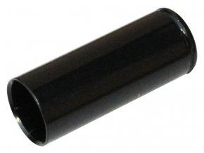 148448 koncovka bowdenu max1 cnc alu 5 mm utesnena cerna 100 ks