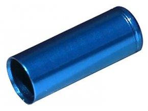 148454 koncovka bowdenu max1 cnc alu 5 mm utesnena modra 100 ks